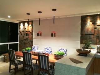 Cobertura Duplex Bacutia - Cliente [ T.B .] Salas de jantar modernas por IG Arquitetura e Interiores Moderno