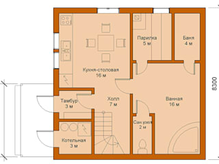 Casas de estilo minimalista de Mild Haus Minimalista