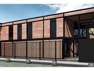 Maisons de style  par NEF Arq.