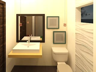 Perfil Arquitectónico Modern bathroom Tiles White