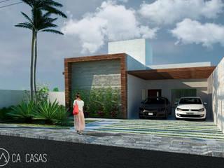 Casa 01 - Térrea com 3 dormitórios: Casas  por C.A. CASAS