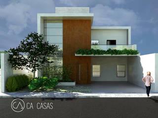 Casa 02 - Sobrado com 4 suítes: Casas  por C.A. CASAS