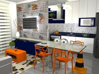 Salle à manger moderne par Arquiteta Elaine Silva Moderne
