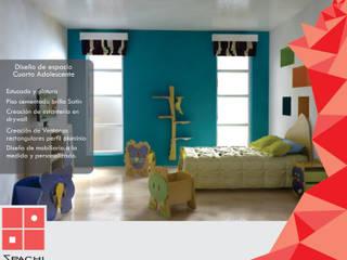 Arquitectura Interior Habitaciones para niños de estilo tropical de Spachi Arquitectura Comercial Tropical