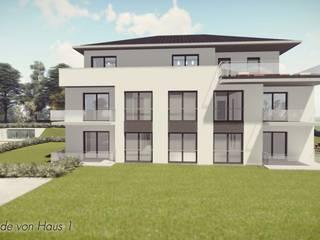 Neubau von 2 Mehrfamilienhäusern in Detmold:   von Bas Architekten