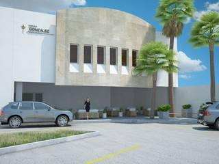 FUNERARIA GONZALEZ Casas modernas de TALLER CREATIVO DE ARQUITECTURA Moderno