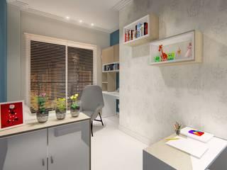 Consultório de Psicologia: Clínicas  por Marco Lima Arquitetura + Design,Moderno