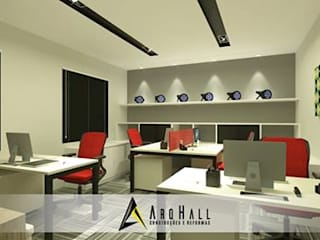 Classic style study/office by Arqhall Arquitetura e Gerenciamento Classic