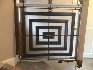 Staircase ZENTIA Corridor, hallway & stairsStairs Iron/Steel Metallic/Silver