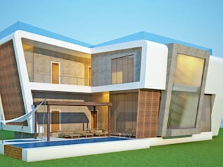 LAME CASA VILLA Modern houses by Archie-Core Modern