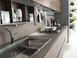 INTERIOR FLAT Modern kitchen by Archie-Core Modern