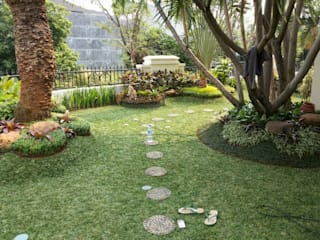 Tukang Taman di Jember Bangunan Kantor Modern Oleh NISCALA GARDEN | Tukang Taman Surabaya Modern