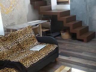 Industrial style living room by Falegnameria Grelli Danilo Industrial