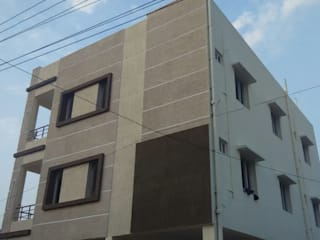 Brhama Exterior Work:   by Walls Asia Architects and Engineers