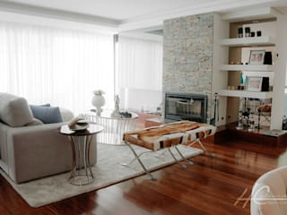 Modern living room by Grupo HC Modern