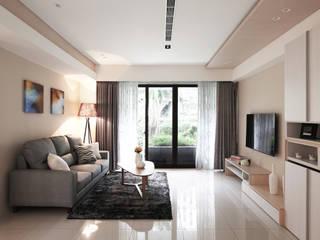 Modern living room by 築一國際室內裝修有限公司 Modern
