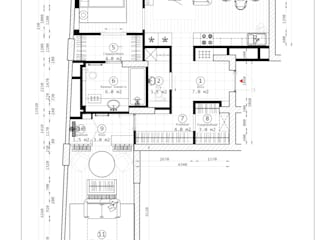 Квартира для бизнес леди и сына в ЖК Дом на Беговой   Неоклассицизм:  в . Автор – ЗАПРОСТО!