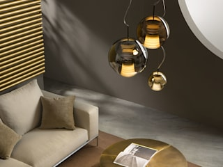 Lampcommerce BedroomLighting Amber/Gold
