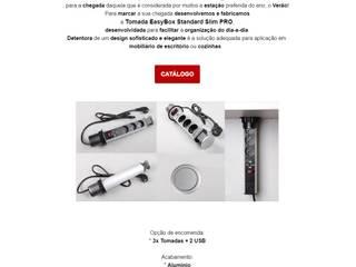 Tomada EasyBox Standard Slim PRO por ESSANI-Inovação Tecnológica Moderno