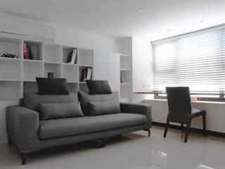 築一國際室內裝修有限公司 Livings de estilo moderno