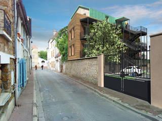 Logements collectifs - Coulommiers:  de style  par Ricardo Vasconcelos - Architecte