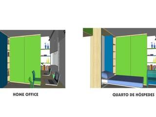 APARTAMENTO NO LARGO DO MACHADO - RJ:   por Maria Helena Torres Arquitetura e Design
