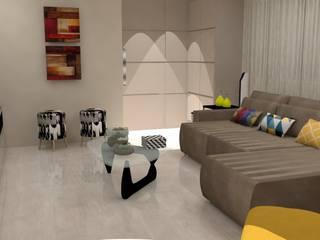Гостиная в . Автор – ML Designer de Interiores, Классический