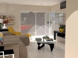 Living room by ML Designer de Interiores,