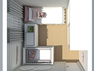 غرفة نوم تنفيذ ML Designer de Interiores