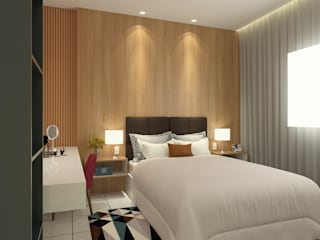 Modern style bedroom by Bruna Rodrigues Designer de Interiores Modern