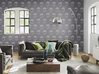 HannaHome Dekorasyon  – Rock'n Roll ruhu duvarlarınızda!: modern tarz , Modern