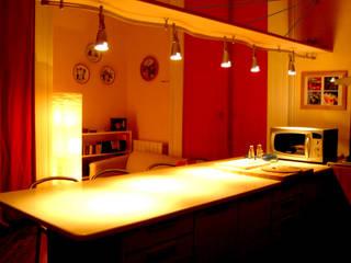penisola: Cucina in stile  di Pecoramelloarchitetti