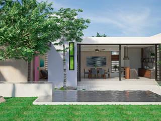 SM-VM Casas modernas de LUUM Arquitectos Moderno