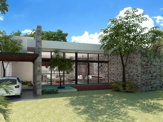 UMN Casas modernas de LUUM Arquitectos Moderno