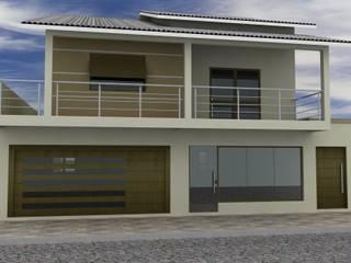 Casa Familiar por Alinne Almeida - Engenharia Civil & Arquitetura Comercial