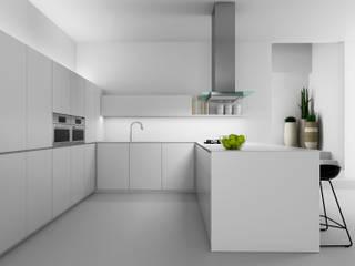 SC / Kitchen: Cocinas de estilo  de Coronado Estudio
