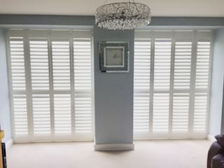 Full Height Real Wood Shutters :   by London Interior Shutters