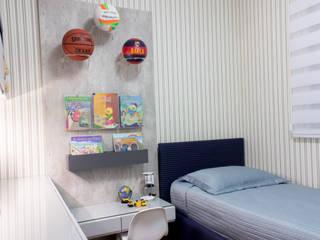 Quarto infantil de menino Quarto infantil moderno por Flávia Diniz - Designer de Ambientes Moderno