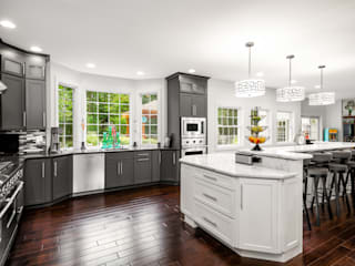 Viking Appliance Award Winning Kitchen by Main Line Kitchen Design Eclectic