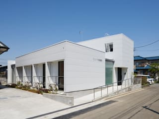 川越のグループホーム: 山本晃之建築設計事務所が手掛けた家です。