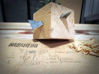 Maceta Polín Fiú.:  de estilo  por Habanero Mobiliario
