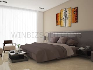 3D Interior Rendering Services: asian  by WinBizSolutions, Asian