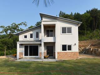 경기도 양평 그림같은 전원주택 (34py) : 한다움건설의  주택