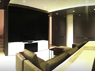 Studioapart Interior & Product design Barcelona Modern style media rooms