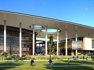 SHIV NADAR UNIVERSITY by INI INFRASTRUCTURE & ENGINEERING Modern