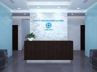 Thiết kế thi công nội thất văn phòng Lạc Hồng - Hưng Yên:   by Nội Thất TNC