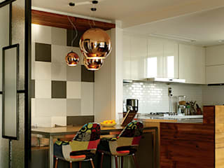 Salle à manger moderne par 바이올렛스타일 Moderne