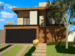 Casas estilo moderno: ideas, arquitectura e imágenes de VIVRE | Arquitetura em São José do Rio Preto - SP Moderno