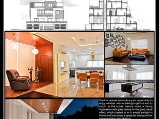 Residential Modern houses by J9 Associates Modern