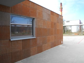 Artis Visio Modern houses Concrete Orange